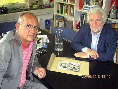 Robert Streibel und Bernhard Herrmann: Der Wein des Vergessens (Interview mit den Autoren)