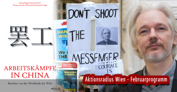China, Julian Assange (Aktionsradius Wien)