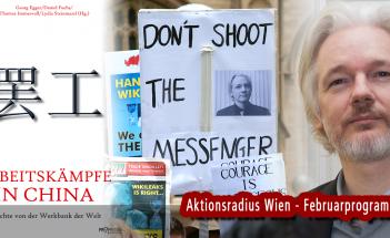 China, Julian Assange (Aktionsradius Wien)
