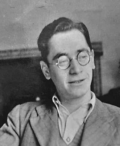 Ernst Fettner im britischen Exil im Austrian Centre (London, frühe 1940er Jahre)