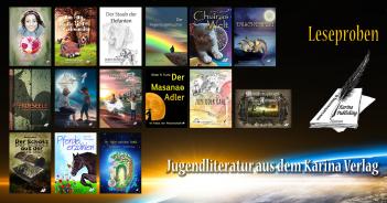 Jugendbücher aus dem Karina Verlag (Leseproben)
