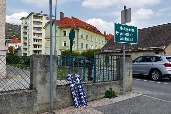 Umbenennung der Maria-Grengg-Gasse in Krems