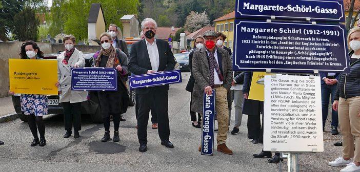 Reformpädagogin statt Nazi-Dichterin! Die Umbenennung der Maria-Grengg-Gasse in Krems an der Donau